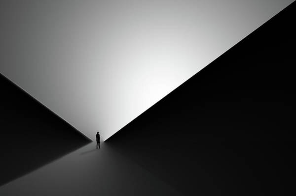 Triangles Photograph - In Between II by Iman Tehranian