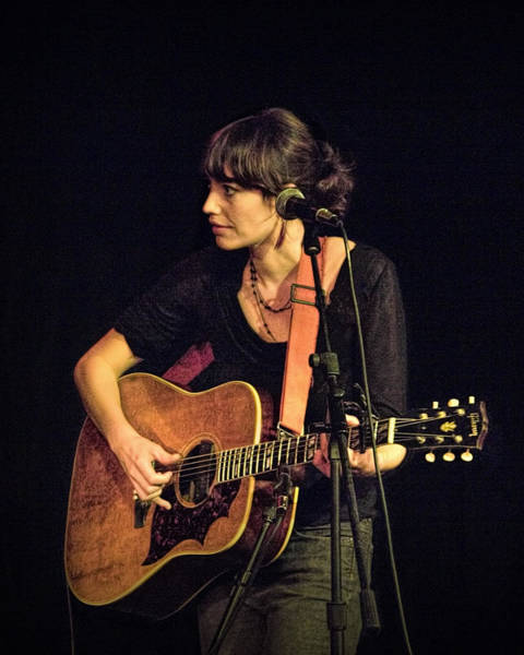Photograph - In Concert With Folk Singer Pieta Brown by Randall Nyhof