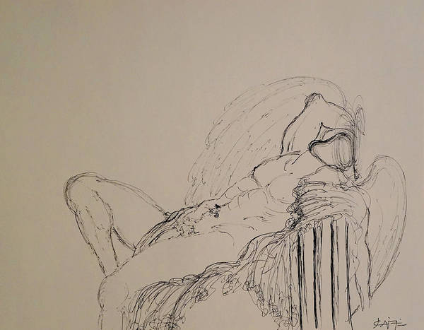 Drawing - In Dreams  by Giorgio Tuscani