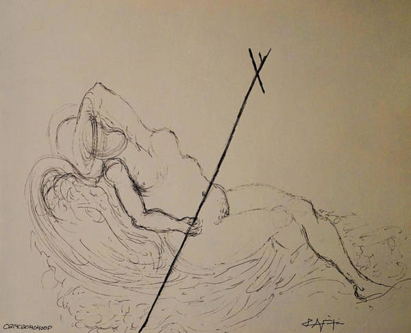 Drawing - In Ecstasy  by Giorgio Tuscani