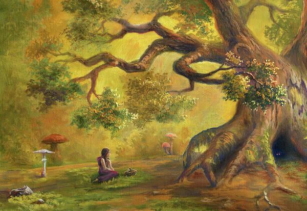 Oak Digital Art - In Fairy Forest by Pobytov
