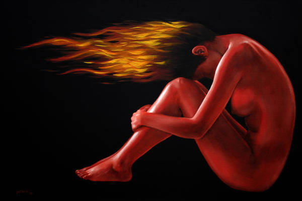 Painting - In Flame by Glenn Pollard