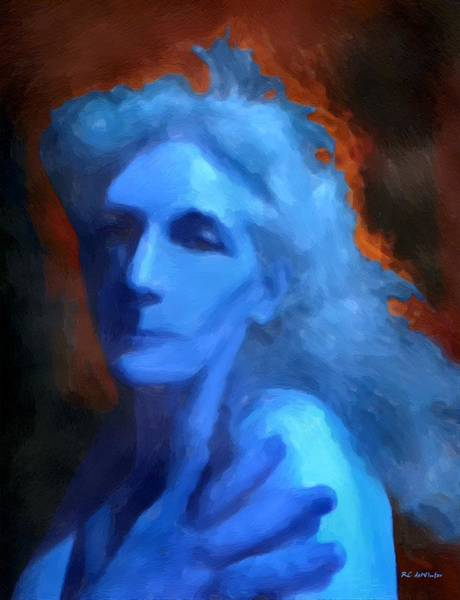 Painting - In Flames by RC DeWinter