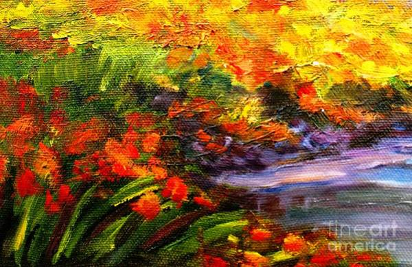 Wall Art - Painting - In Full Bloom by Hazel Holland