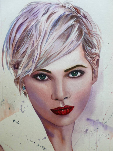 Painting - In Her Eyes by Michal Madison
