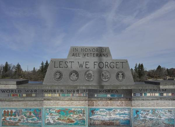 Bonneville County Photograph - In Honor Of All Veterans by Image Takers Photography LLC - Carol Haddon