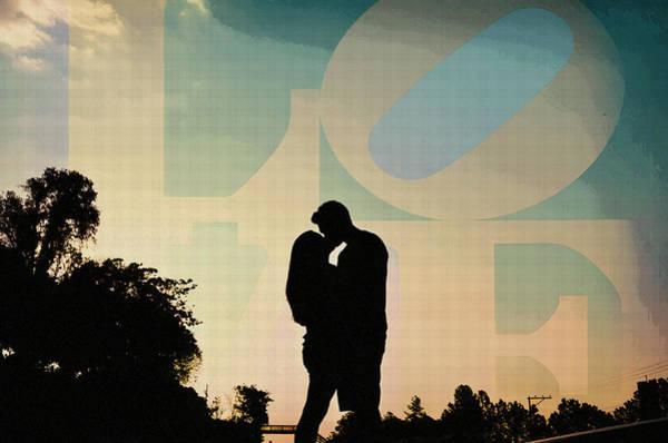 Digital Art - In Love by Celestial Images