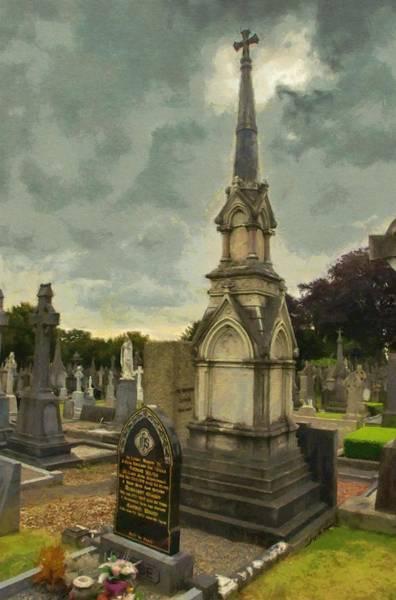 Buried Painting - In Loving Memory by Jeffrey Kolker