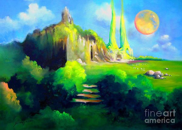 Painting - In Memoriam Old Masters by Alexa Szlavics