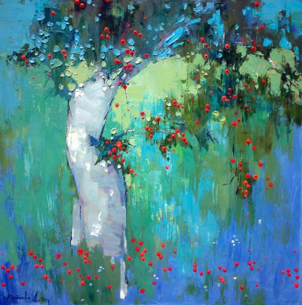 Wall Art - Painting - In My Garden by Anastasija Kraineva