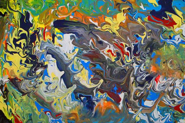 Painting - In My Head by Cyryn Fyrcyd