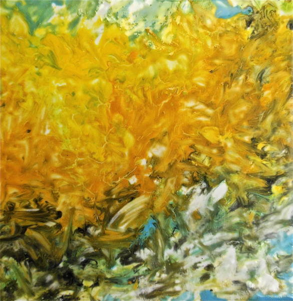 Painting - In My Magic Garden by Joan Reese