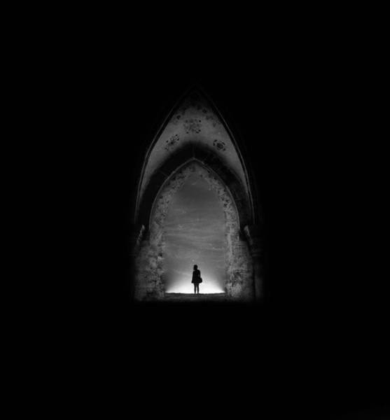 Gothic Photograph - In Permanent Void by Radin Badrnia
