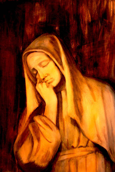 Painting - In Prayer by Giorgio Tuscani