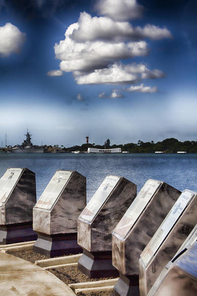 Uss Arizona Wall Art - Photograph - In Remembrance V7 by Douglas Barnard