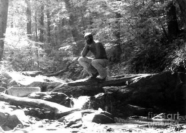 Photograph - In Rock Creek Park 1973 by Walter Neal