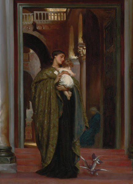 Wall Art - Painting - In St Mark's by Frederic Leighton