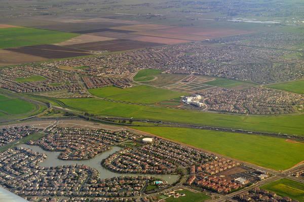 Wall Art - Photograph - In The Air Over Sacramento Ca by Mischelle Lorenzen