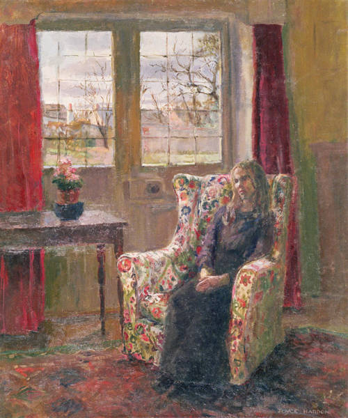 Depression Photograph - In The Armchair By The Window by Joyce Haddon