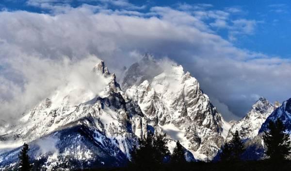 Wall Art - Photograph - The Teton Range by Dan Sproul