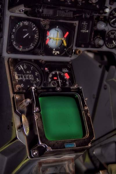 Flight Deck Photograph - In The Cockpit by Dan Sproul