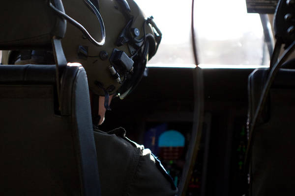 Agustawestland Photograph - In The Cockpit by Paul Job