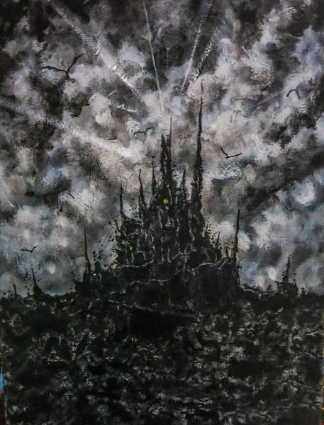 Painting - In The Dark Of Your Dreams by Joel Tesch
