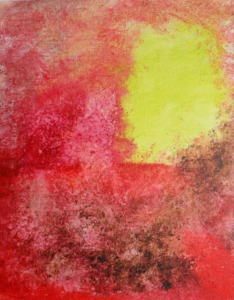 Wall Art - Painting - In The Desert by Valerie Howell