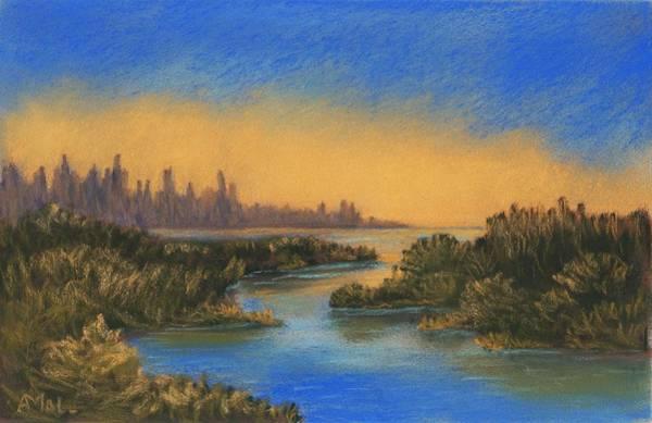 Wall Art - Painting - In The Distance by Anastasiya Malakhova