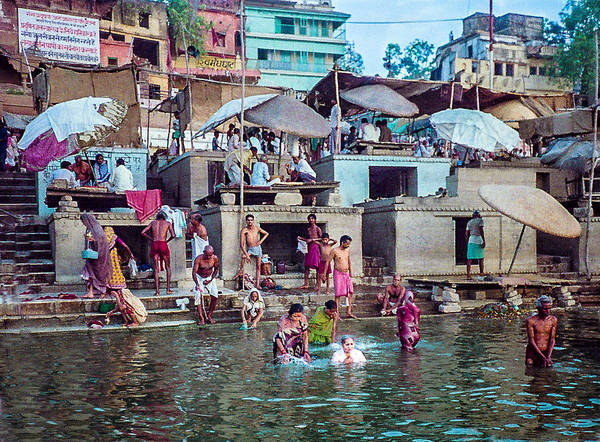 Photograph - In The Ganges by Pete Hendley