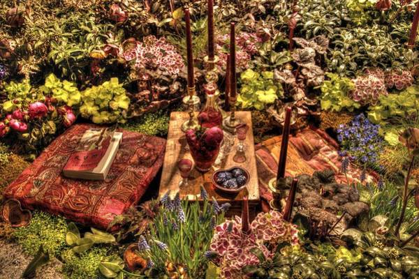 Mark Coleman Wall Art - Photograph - In The Garden With The Essential Rumi by Mark Valentine