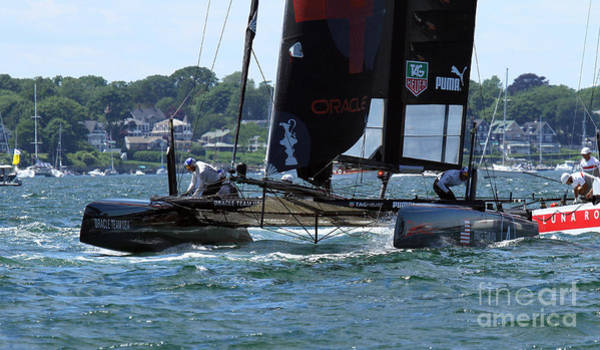 Ac45 Photograph - In The Lead by Butch Lombardi