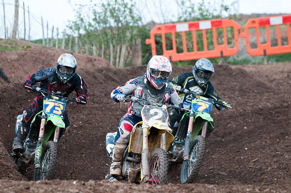 Dirtbike Photograph - In The Lead by Roy Pedersen