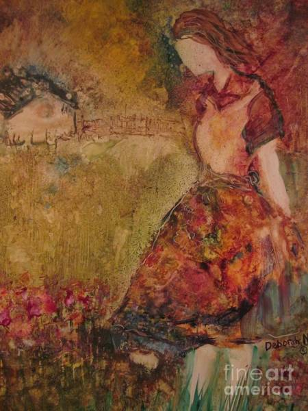 Painting - In The Meadow by Deborah Nell