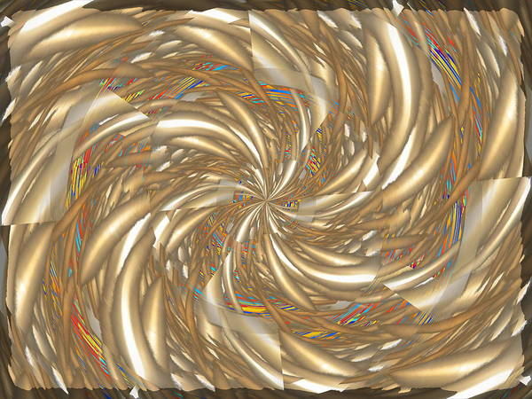 Whirl Digital Art - In The Mix by Tim Allen