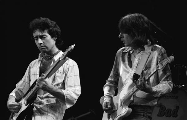 Photograph - In The Moment With Bad Company 1977 by Ben Upham