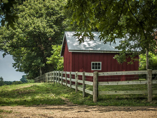 Monocacy Wall Art - Photograph - In The Red by Andy Smetzer