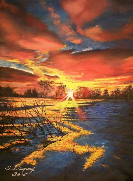Painting - In The Still Of Dawn-2 by Sharon Duguay