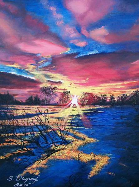 Painting - In The Still Of Dawn  by Sharon Duguay