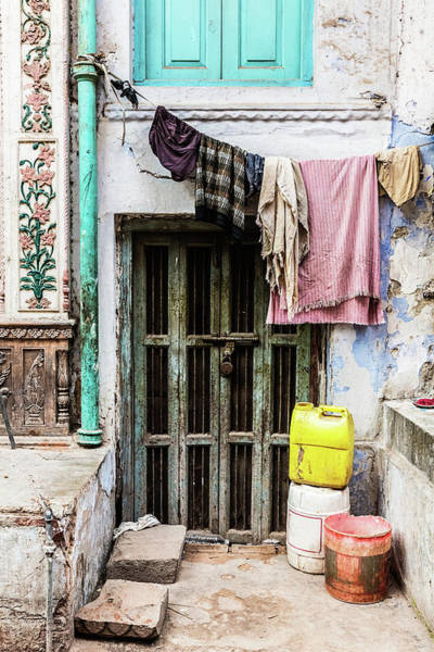 The Doors Wall Art - Photograph - In The Streets Of Delhi, India by Terrababy