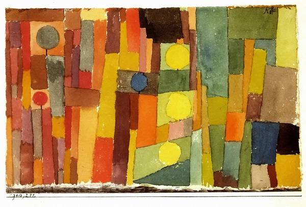 Painting - In The Style Of Kairouan by Paul Klee