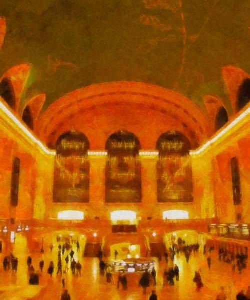 Grand Central Painting - In The Terminal by Dan Sproul