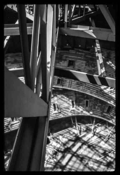 Photograph - In The Trusses by Dwight Theall