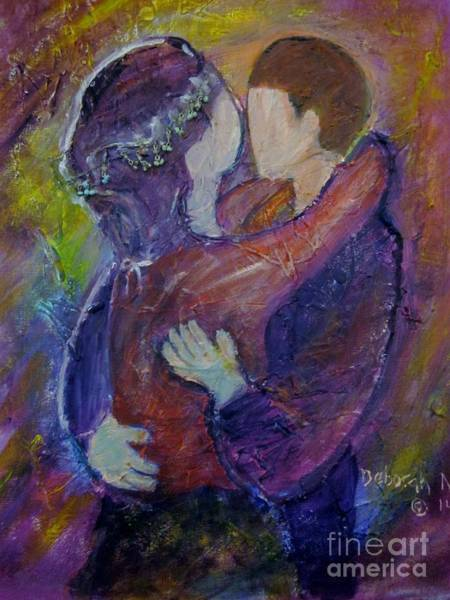 Painting - In Your Arms by Deborah Nell