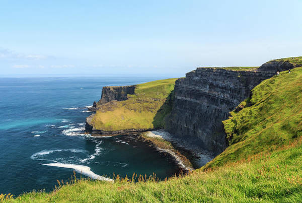 Maria Island Wall Art - Photograph - Inaccessible Beach, Cliffs Of Moher by Maria Swärd