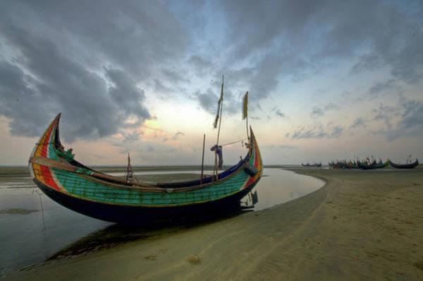 Oar Photograph - Inani Beach by Noor-a-kadir (rana)