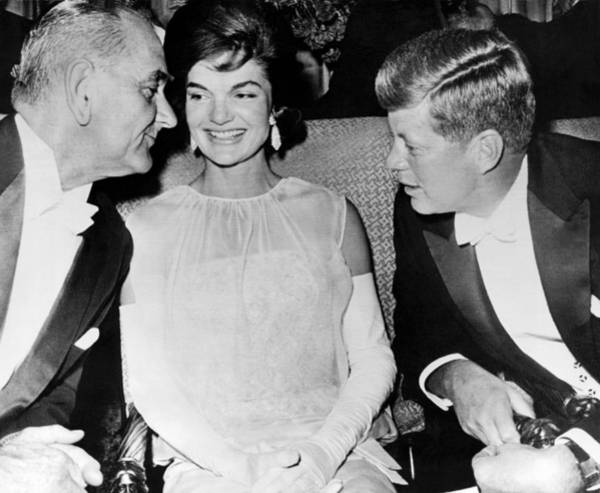 Vice Photograph - Inaugural Ball Conversation by Underwood Archives