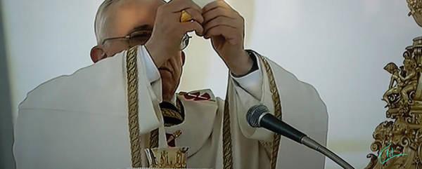Inauguration Pope Francis Vatican  Rom 19 February 2013  Art Print