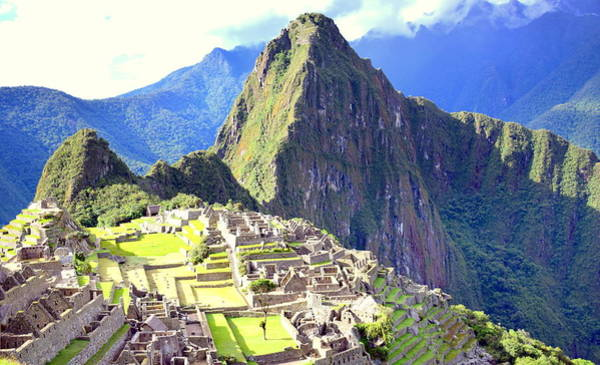 Brillante Photograph - Inca City Of Machu Picchu by HQ Photo