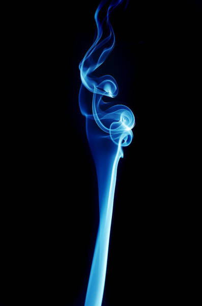 Photograph - Incendere - 6521 Blue by Steve Somerville